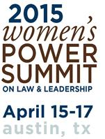 2015 Women's Power Summit on Law and Leadership