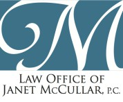 Logo for Law Office of Janet McCullar, P.C.