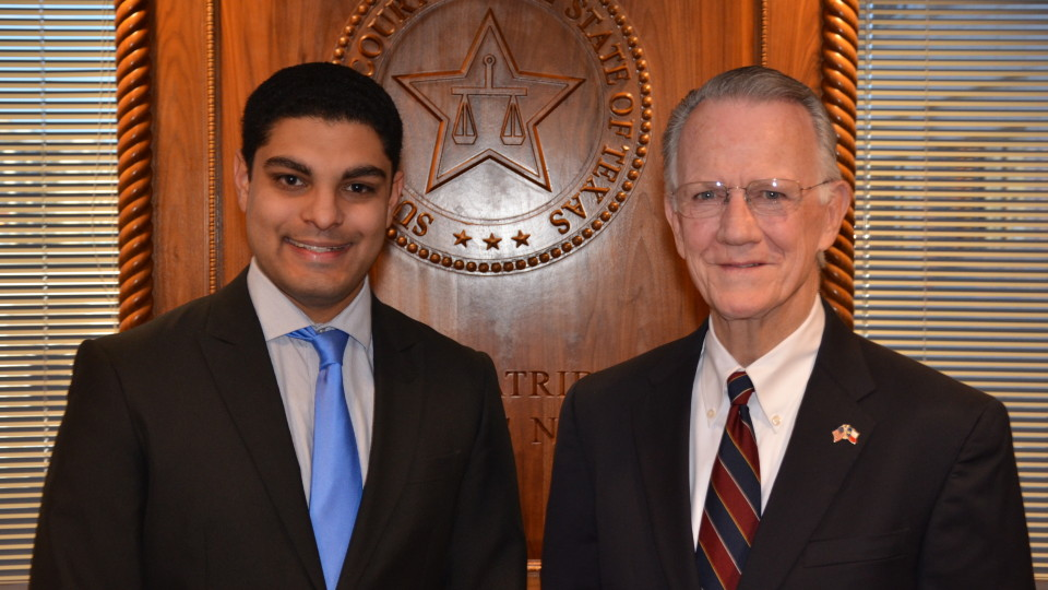 Yaman Desai and Justice Johnson