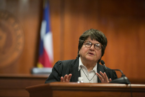 Sister Helen Prejean at the Texas Law School 11 Oct 2012