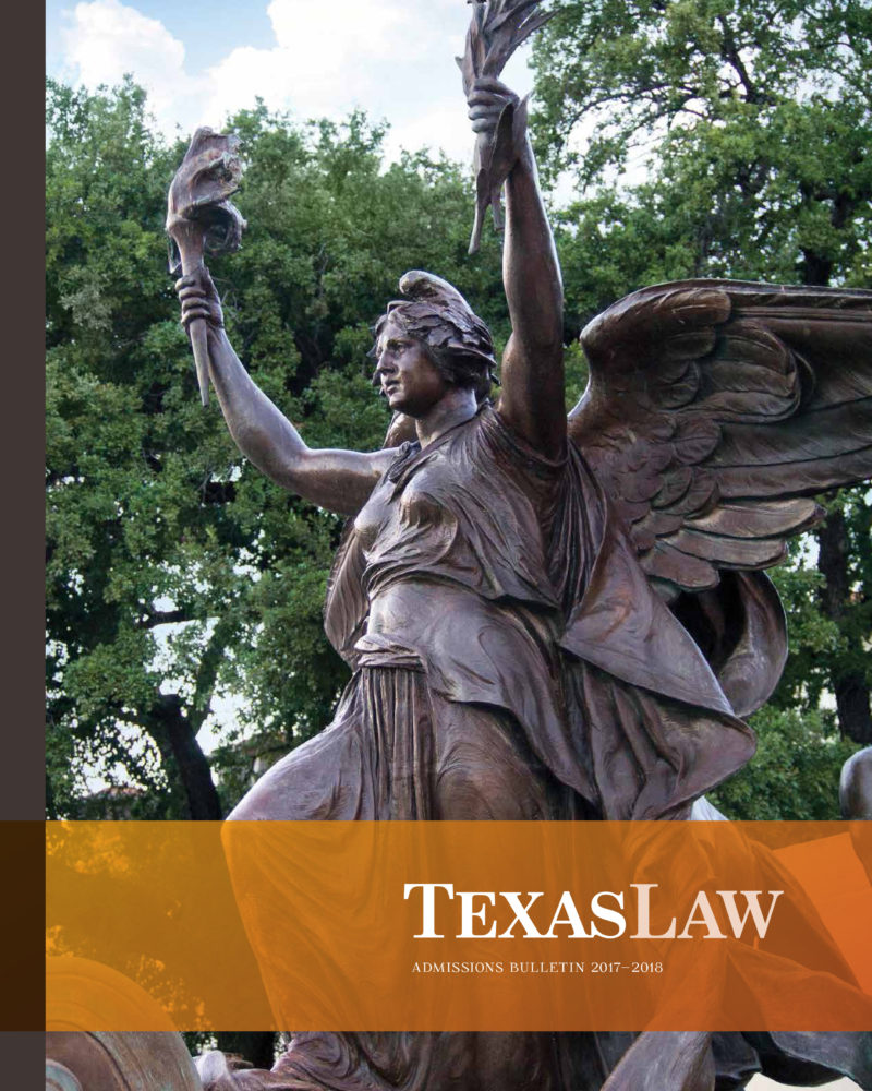 Texas Law J.D. Bulletin cover