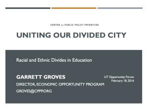 Garrett Groves Presentation
