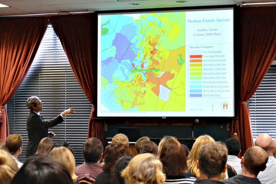 Presentation on the U.S. Census and Segregation in Austin