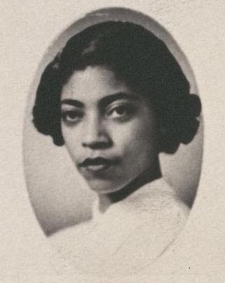 Gloria Bradford in her 1954 Senior Law picture