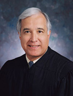 Headshot photo of Judge Edward C. Prado, '72