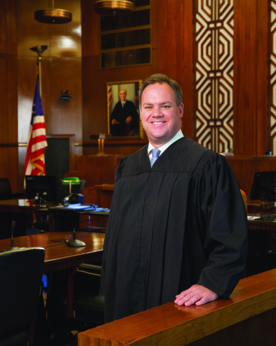 Judge Gregg J. Costa, '99 professional posed photo