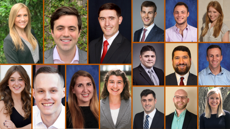 Collage of the 2020 Chancellors' headshots