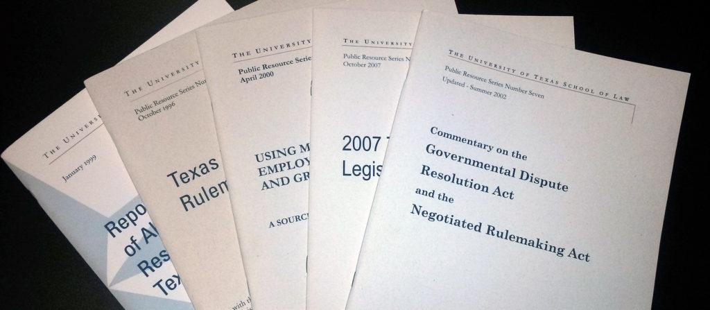 Center publications