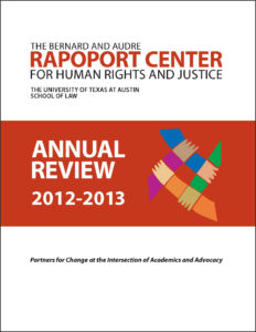 Annual Review 2012-2013
