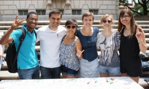​2012 HRSAC representatives at the annual human rights fair