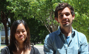 2015 Graduate Summer Fellows Vivian Shaw and Cianan Good
