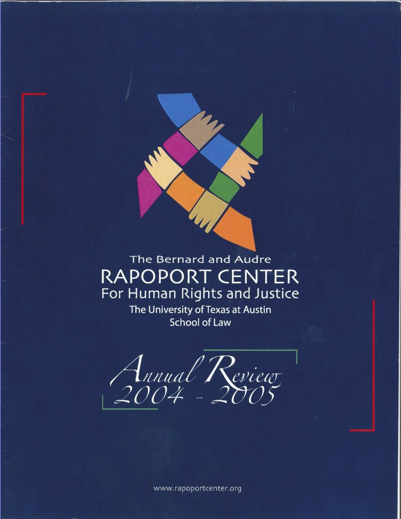 Cover of the 2004-2005 Annual Review