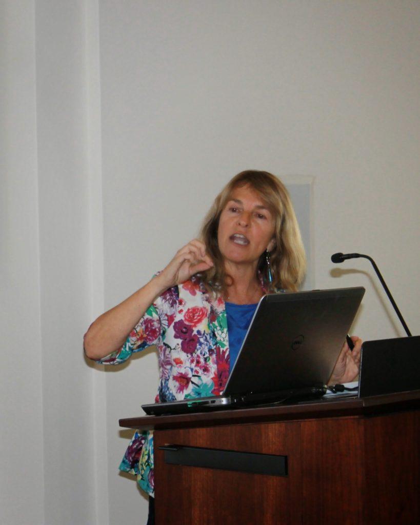 Sofia Gruskin speaking