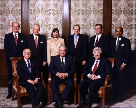 Bernard Rapoport and the other UT Regents