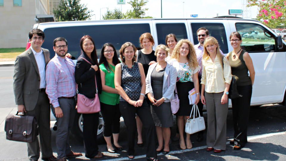 Immigration Clinic group photo 2015