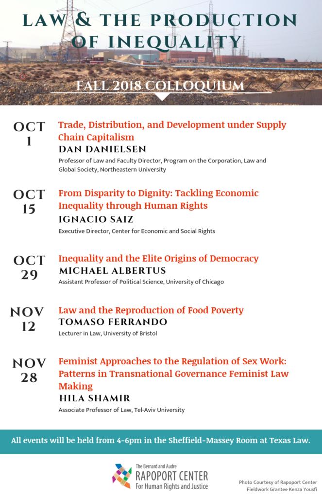 Fall 2018 Colloquium Poster