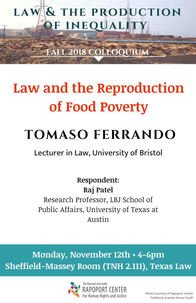 Ferrando lecture poster