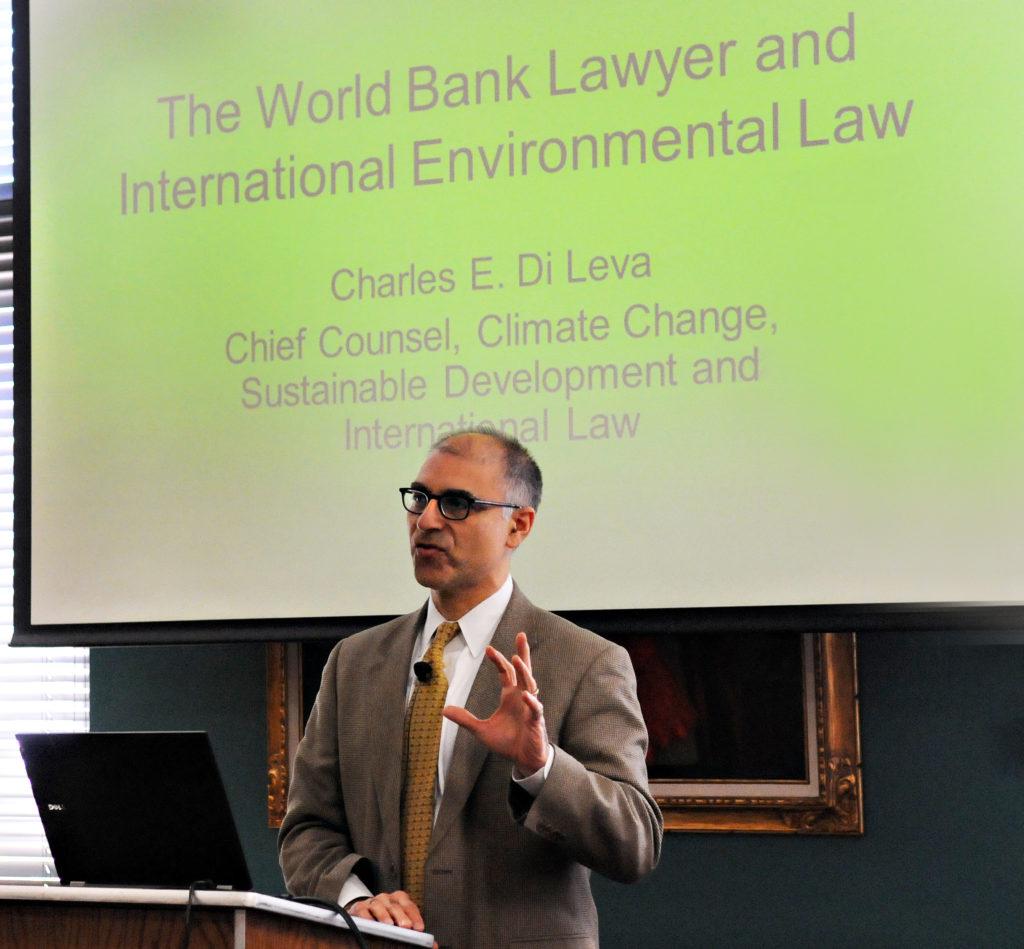 Charles DiLeva, World Bank