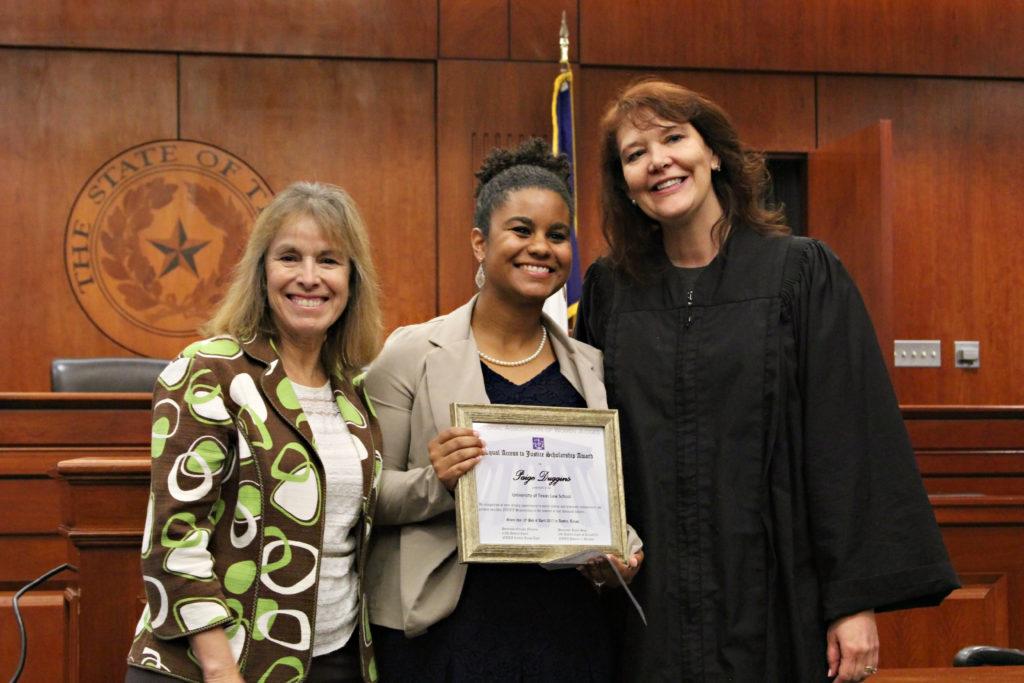 Paige Duggins NAWJ Award