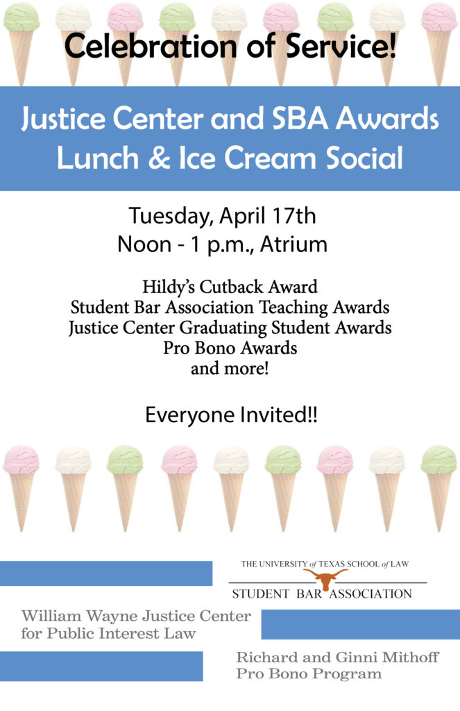 Flyer advertising ice cream social