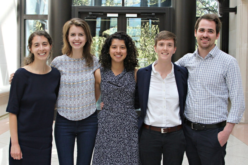 Group photo of G. Rollie White summer fellows