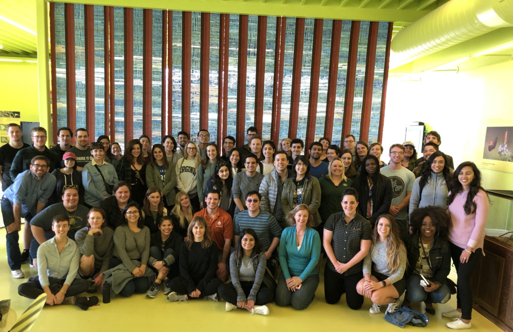 group photo of students, faculty, staff