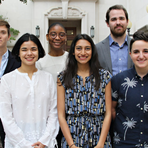 Photo of 2019 Whitehurst Summer Fellows
