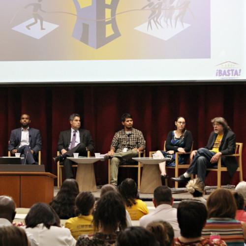 Photo of Eviction Panelists