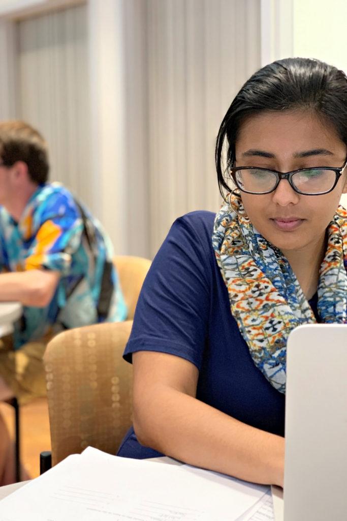 Students at PAD Clinic