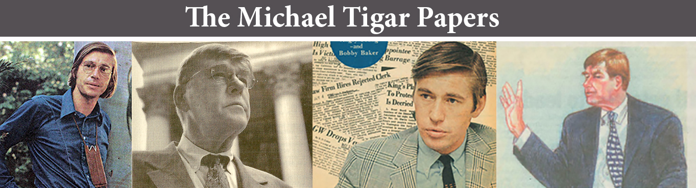 The Michael Tigar Archive