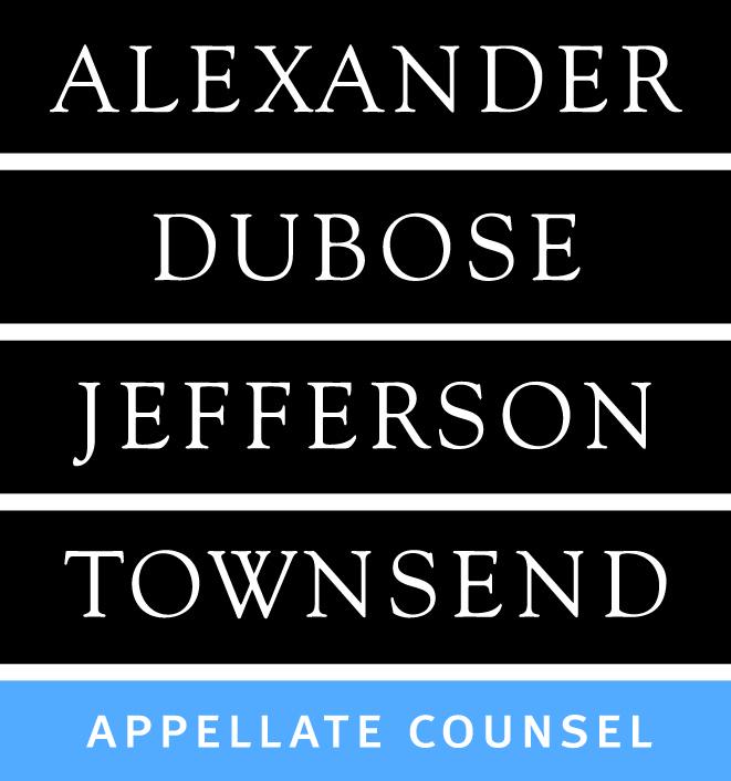 alexander dubose jefferson townsend
