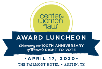 2020 CWIL award luncheon, April 17, 2020