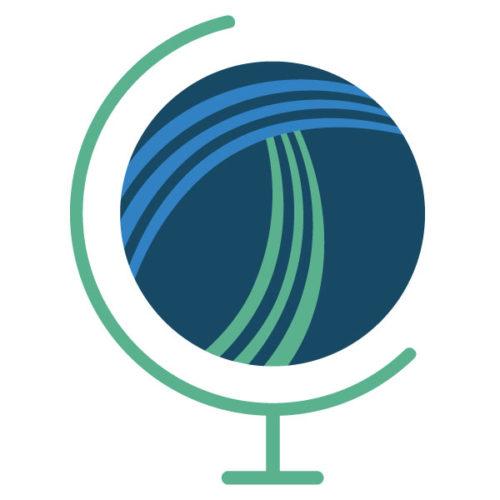 ITL logo of globe