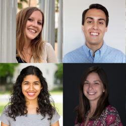 Class of 2023 pro bono participants (clockwise from top left) Kate Gibson, Marcus Harding, Adarsh Parthasarathy, Neal Whetstone, Leah Weintrub, and Sophia Shams.