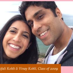 Shifali Kohli and Vinay Kohli