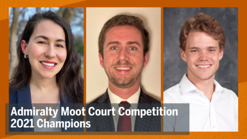 2021 Admiralty Moot Court Competition Champions