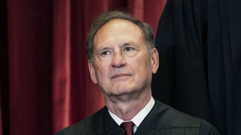 Headshot of Judge Alito