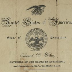 Archive of a passport that was issued less than a year after the birth of the Republic of Texas.