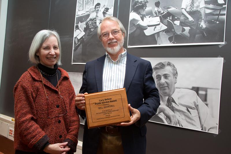 Bill Beardall receives Harvard Law School's 2012 Gary ...