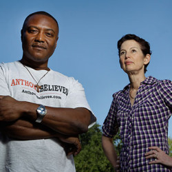 Death row exoneree Anthony Graves and Nicole Casarez