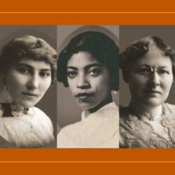 An image of the five first women at Texas Law