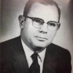 Portrait of Dean Keeton