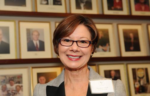 Marianne Carroll, '81, winner of the 2013 Ernest E. Smith Lifetime Achievement Award.