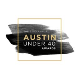 Austin Under 40 Awards graphic
