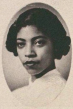 Headshot of Gloria Bradford in her 1954 Senior Law Composite. Courtesy of the Tarlton Law Library, The University of Texas at Austin.