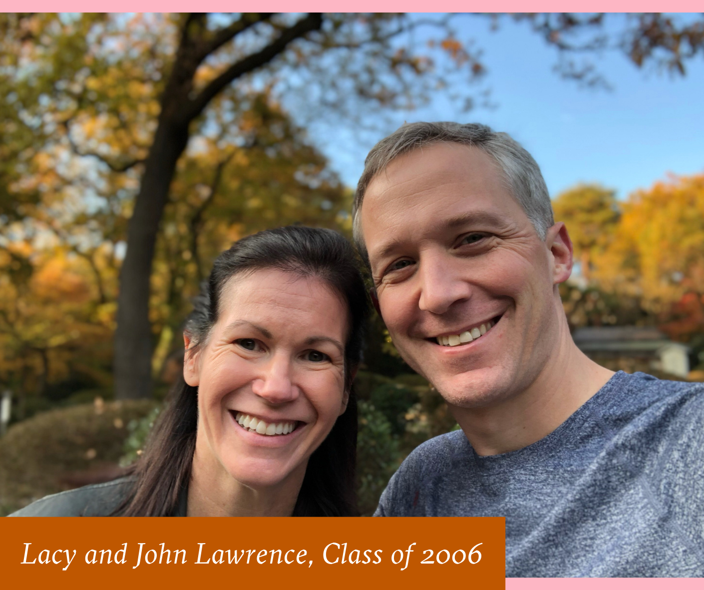 Portrait of Lacy and John Lawrence