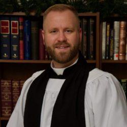Portrait of John Goodman II, wearing his Anglican Minister attire.
