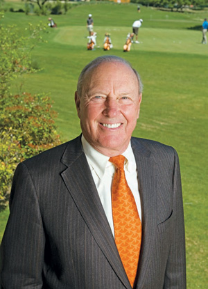 Mike A. Myers, '63, at the University of Texas Golf Club