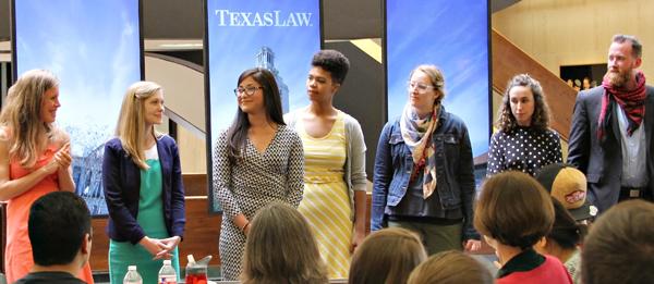 Student recipients of the post graduate fellows.